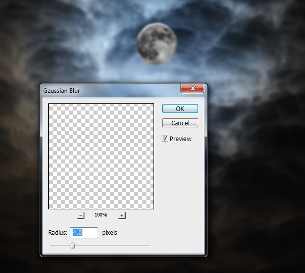 Create a Haunted House Scene with Photoshop 8