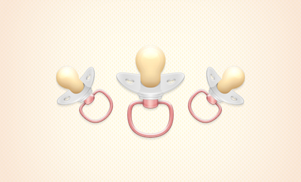 Create a Pacifier Illustration in Adobe Photoshop