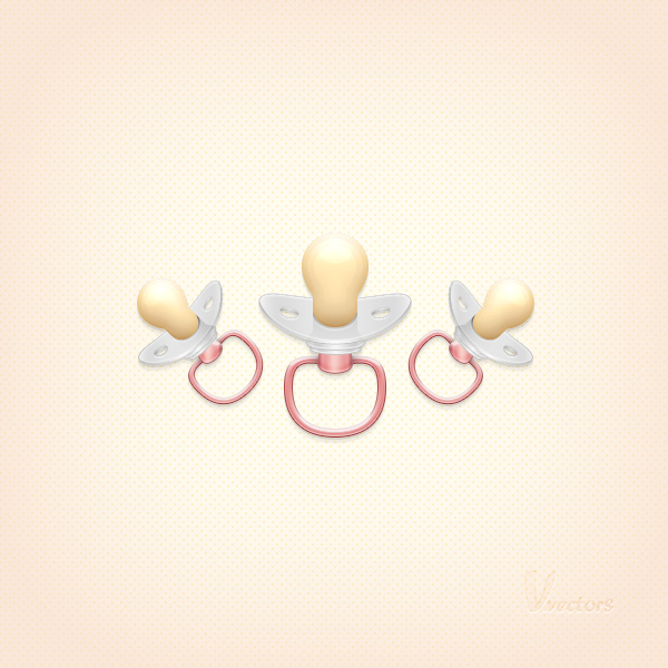 Create a Pacifier Illustration from Scratch in Adobe Photoshop