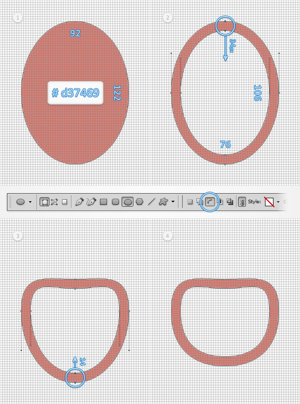 Create a Pacifier Illustration from Scratch in Adobe Photoshop 2