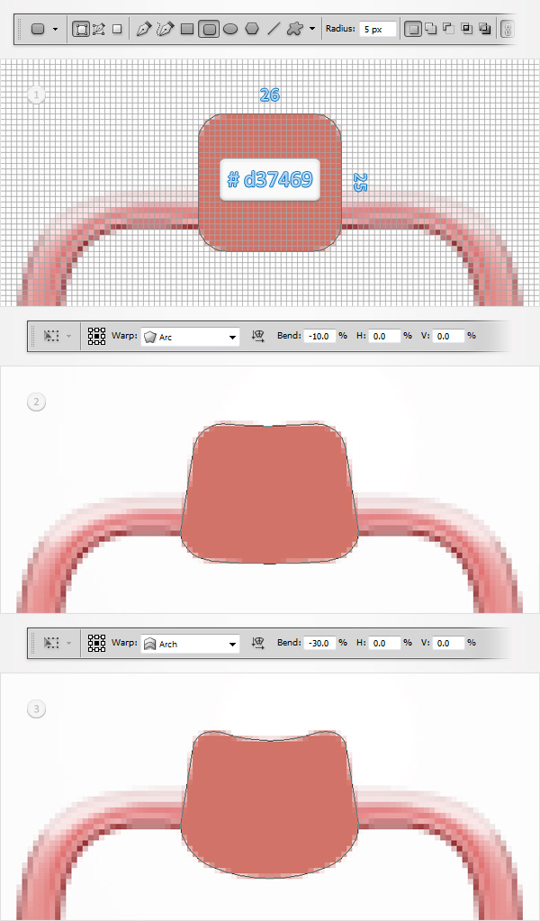 Create a Pacifier Illustration from Scratch in Adobe Photoshop 9