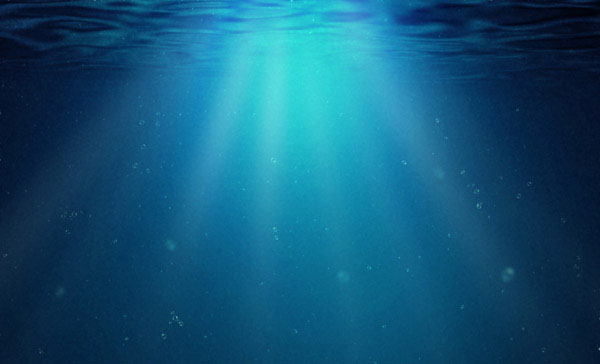 Create an Underwater Background Using Photoshop Filters