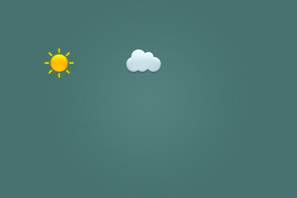 Create a Set of Weather Icons in Adobe Photoshop 10
