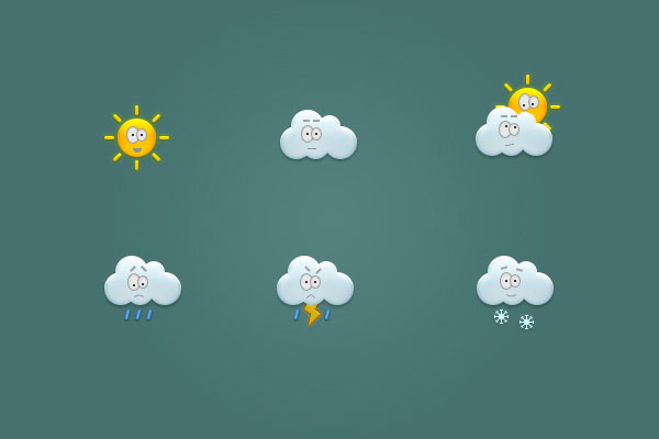 Create a Set of Weather Icons in Adobe Photoshop Final