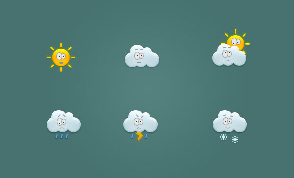 Create a Set of Weather Icons in Adobe Photoshop