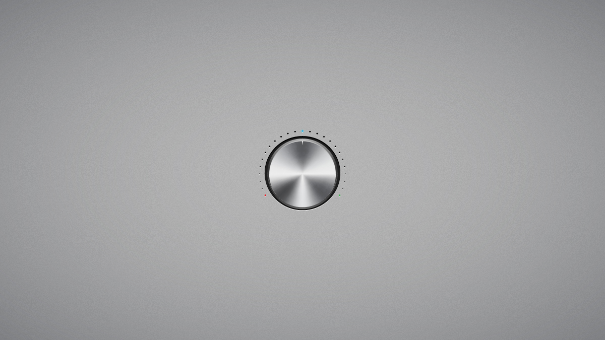 How to Create a Steel Volume Knob in Adobe Illustrator