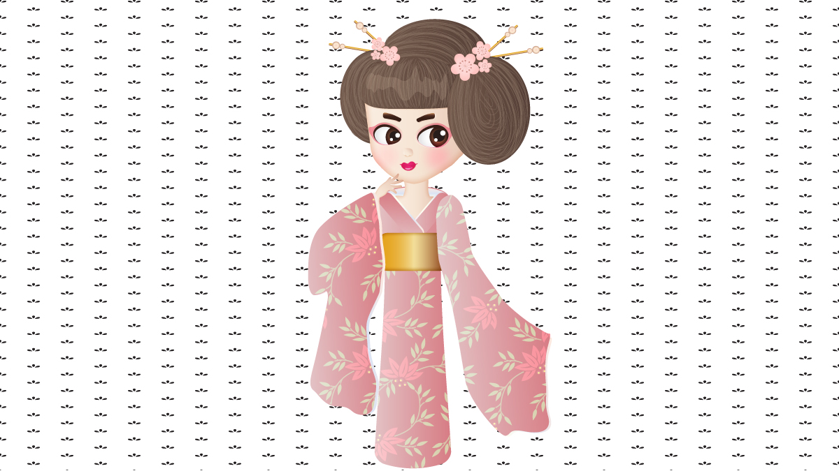 Create a Geisha Girl in Illustrator